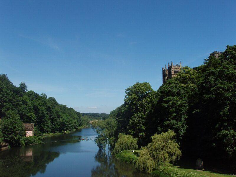 The River Wear in Durham (Photo: Wikicommons)