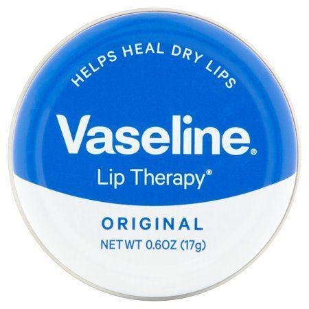 """<p><strong>Vaseline</strong></p><p>walmart.com</p><p><strong>$5.78</strong></p><p><a href=""""https://go.redirectingat.com?id=74968X1596630&url=https%3A%2F%2Fwww.walmart.com%2Fip%2F49660544&sref=https%3A%2F%2Fwww.goodhousekeeping.com%2Fbeauty%2Fmakeup%2Fg3325%2Fbest-lip-balms%2F"""" rel=""""nofollow noopener"""" target=""""_blank"""" data-ylk=""""slk:Shop Now"""" class=""""link rapid-noclick-resp"""">Shop Now</a></p><p>When it comes to balm, basic can be better. With just three ingredients — shea butter, petrolatum, and vitamin E — Vaseline's balm is a <strong>simple treatment for your parched, chapped lips that will hydrate without stickiness</strong>. It also comes in a slew of <a href=""""https://www.amazon.com/Vaseline-Lip-Therapy-Tins/dp/B01M3XQFR9/?tag=syn-yahoo-20&ascsubtag=%5Bartid%7C10055.g.3325%5Bsrc%7Cyahoo-us"""" rel=""""nofollow noopener"""" target=""""_blank"""" data-ylk=""""slk:scents and flavors"""" class=""""link rapid-noclick-resp"""">scents and flavors</a>, from rose to soothing aloe to hydrating cocoa butter.</p>"""