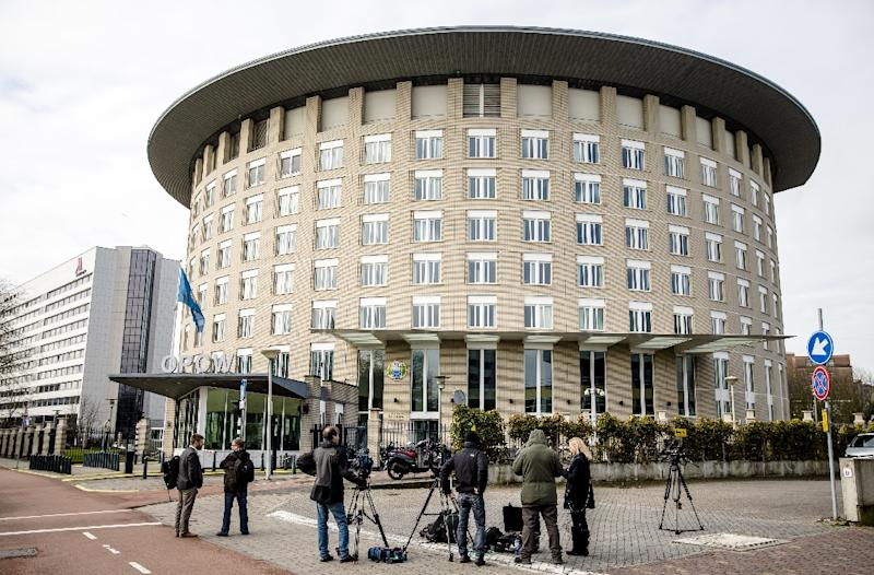 It is the second time in just a few weeks that OPCW investigators have been deployed to a site of a suspected toxic arms attack