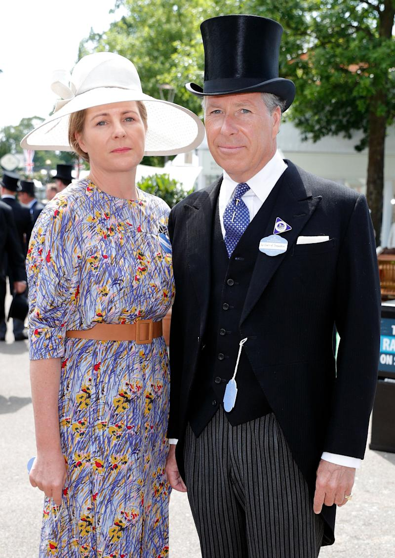 Serena, Countess of Snowdon and David, Earl of Snowdon on day 1 of the Royal Ascot on June 20, 2017 in Ascot, England. (Max Mumby/Indigo via Getty Images)