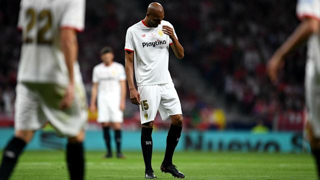 Sevilla were crushed 5-0 by Barcelona in the Copa del Rey on Saturday, with Steven N'Zonzi seen at a nightclub just a few hours later.