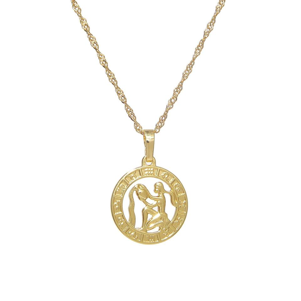 """<p><strong>VibeSzn</strong></p><p>vibeszn.com</p><p><strong>$33.39</strong></p><p><a href=""""https://vibeszn.com/collections/necklaces/products/horoscope-pendant-necklace-1"""" rel=""""nofollow noopener"""" target=""""_blank"""" data-ylk=""""slk:Shop Now"""" class=""""link rapid-noclick-resp"""">Shop Now</a></p><p>A pretty unisex pendant is a fail-safe gift for any sign. </p>"""