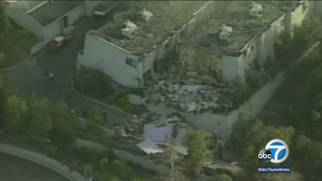 The deadly Northridge earthquake ripped through the Southland while most people were fast asleep in January 1994, flatting highways, bursting gas lines and squashing buildings.