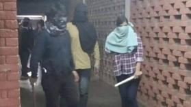JNU violence Some masked persons identified