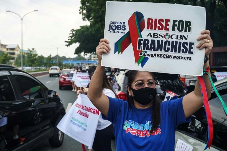 Top broadcaster ABS-CBN is preparing to lay off thousands of workers after it was forced off the air over a stalled renewal of its operating licence