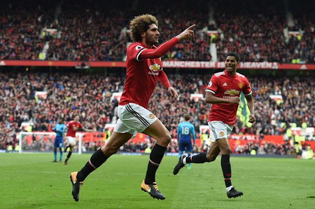 'Marouane Fellaini won't renew at Manchester United' - AC Milan chase Belgium star on free transfer