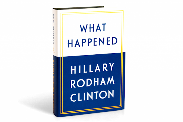 """What Happened,"" Hillary Clinton's campaign memoir, will be released next month. (Simon & Schuster)"