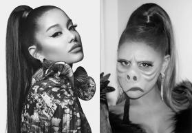 Ariana Grande's 'The Twilight Zone' inspired Halloween look will freak you out