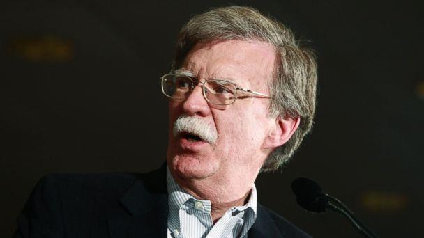 PHOTO: Former United Nations Ambassador John Bolton campaigns for Republican presidential candidate, former Massachusetts Governor Mitt Romney, in Hilton Head, South Carolina, Jan. 13, 2012. (Charles Dharapak/AP Photo)