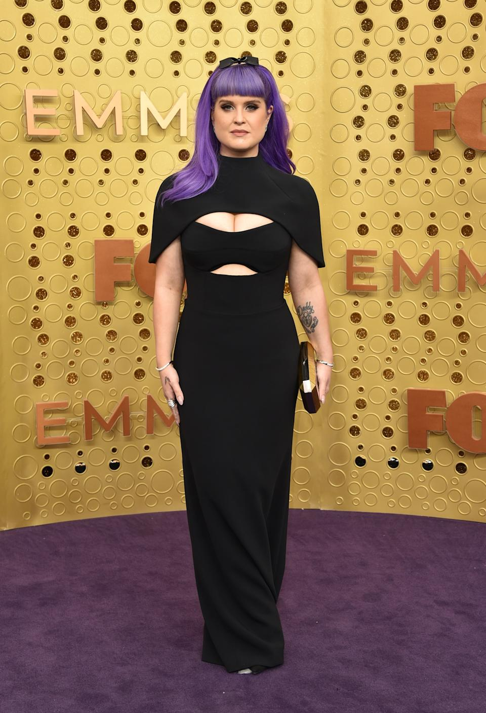"""<h1 class=""""title"""">Kelly Osbourne with an Emm Kuo bag</h1><cite class=""""credit"""">Photo: Getty Images</cite>"""
