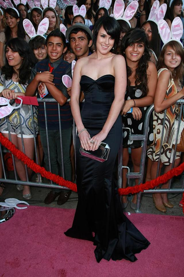 """<a href=""""http://movies.yahoo.com/movie/contributor/1800260809"""">Rumer Willis</a> at the Los Angeles Premiere of <a href=""""http://movies.yahoo.com/movie/1809921361/info"""">The House Bunny</a> - 08/20/2008"""