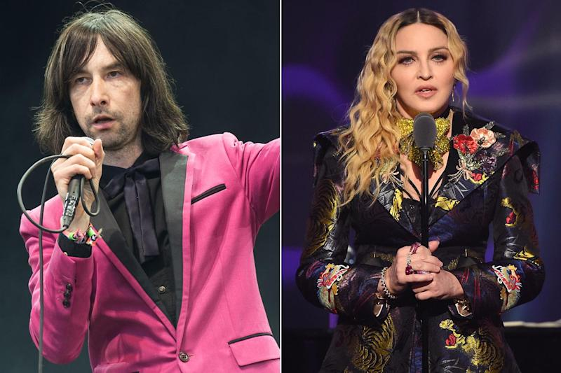 Primal Scream frontman Bobby Gillespie sparks controversy by calling Madonna 'a total prostitute' for performing in Israel