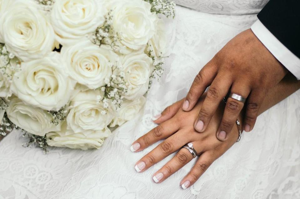 """If you got married straight out of high school or college, you might start to reconsider your relationship later on. According to a 2015 study from <strong>Nicholas Wolfinger</strong>, a professor at the University of Utah, <a href=""""https://ifstudies.org/blog/want-to-avoid-divorce-wait-to-get-married-but-not-too-long/"""" rel=""""nofollow noopener"""" target=""""_blank"""" data-ylk=""""slk:couples who marry younger are at a greater risk of divorce"""" class=""""link rapid-noclick-resp"""">couples who marry younger are at a greater risk of divorce</a> compared to couples who wed in their late 20s and early 30s. Unfortunately, if you get hitched when you're under the age of 20, Wolfinger estimates that your divorce risk is 32 percent, based on age alone."""