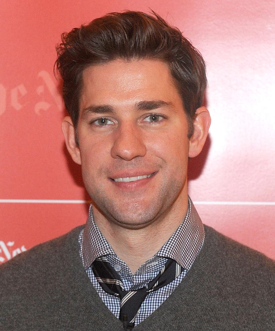"""<strong><h2>2011</h2></strong> Now it's <em>really</em> clear Krasinski found a groomer with the best advice: less is more (at least, in the case of hair gel). <span class=""""copyright"""">Photo: Brad Barket/Getty Images.</span>"""