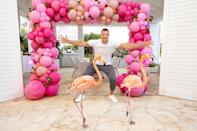 """<p><strong>Location:</strong> Nassau, Bahamas</p> <p>Super Bowl LV champ Rob Gronkowski took his family to the Bahamas to celebrate his mom Diane's 60th birthday, and they stayed at the luxurious <a href=""""https://bahamar.com/"""" rel=""""nofollow noopener"""" target=""""_blank"""" data-ylk=""""slk:Baha Mar"""" class=""""link rapid-noclick-resp"""">Baha Mar</a> resort on Cable Beach. While there, the group played mini golf, spent time at the casino and toasted the birthday girl at sunset at Skybar rooftop lounge. </p> <p><em>Selling Sunset</em>'s Mary Fitzgerald and Romain Bonnet have also <a href=""""https://www.instagram.com/p/CNIZiKGFqre/"""" rel=""""nofollow noopener"""" target=""""_blank"""" data-ylk=""""slk:recently checked in"""" class=""""link rapid-noclick-resp"""">recently checked in</a> here.</p>"""