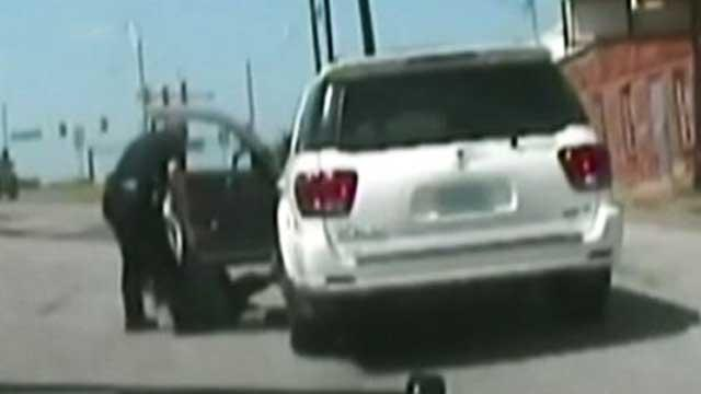 Elderly Woman Dragged From Car by Texas Cop
