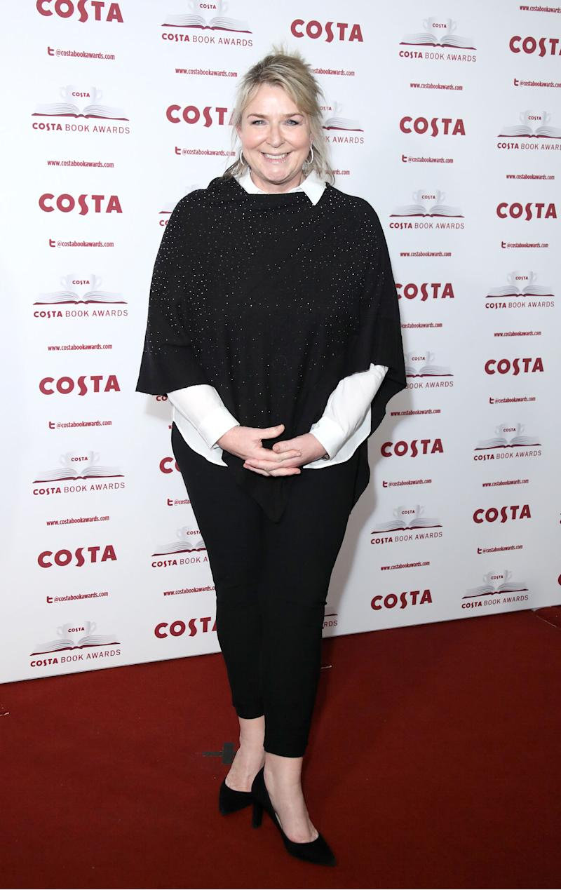 Fern Britton attends the 'Costa Book Awards' 2018 at Quaglinoâ™s on January 30, 2018 in London, Englan (Photo by Mike Marsland/Mike Marsland/WireImage)