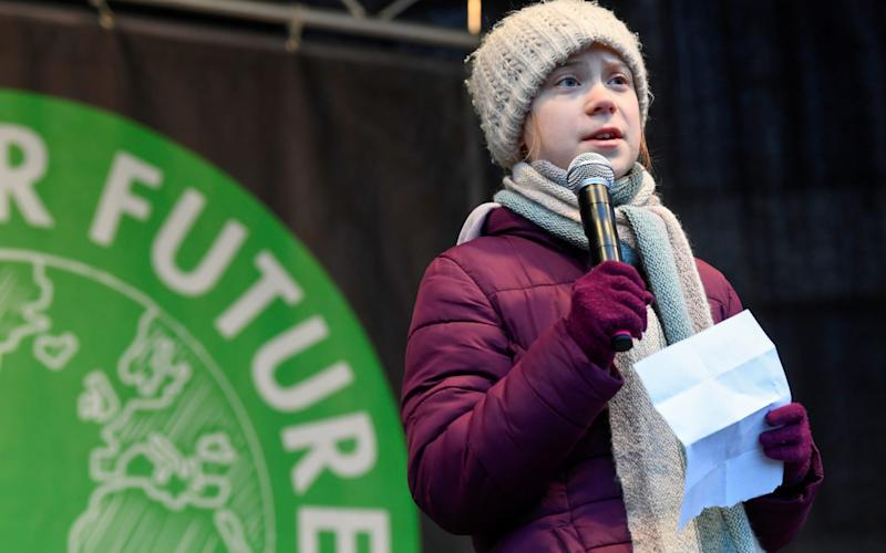 Avon and Somerset Police expect thousands of people to be at the Bristol Youth Strike 4 Climate on Friday to hear the 17-year-old climate activist speak - Reuters