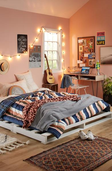 If your student is looking to refresh their bedroom or is moving into a newdorm room come fall, then you'll love the new home decor line at Nordstrom