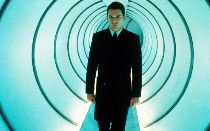 Ethan Hawke in the film Gattaca - Rex Features