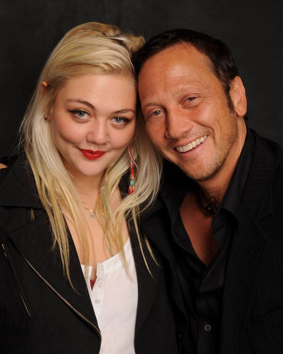 """<p><strong>Famous parent(s)</strong>: actor Rob Schneider and model London King<br><strong>What it was like</strong>: """"I got kicked out of school in eighth grade,"""" she's <a href=""""http://www.billboard.com/articles/news/magazine-feature/6753770/elle-king-breakout-hit-exs-and-ohs-dad-rob-schneider-wild-child"""" rel=""""nofollow noopener"""" target=""""_blank"""" data-ylk=""""slk:said"""" class=""""link rapid-noclick-resp"""">said</a>. """"It was a horrible place; just rich kids being bad. When you grow up in New York with famous parents, you kind of end up running into other kids with famous parents.""""</p>"""