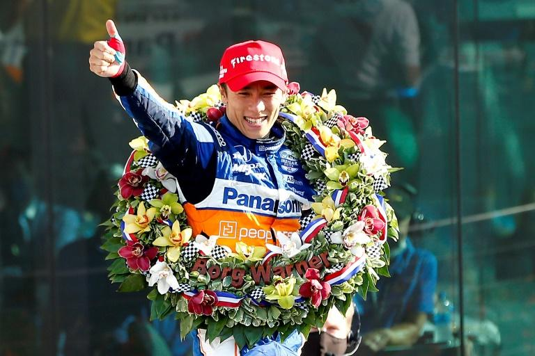 Japan's Sato holds off Kiwi Dixon to win second Indy 500