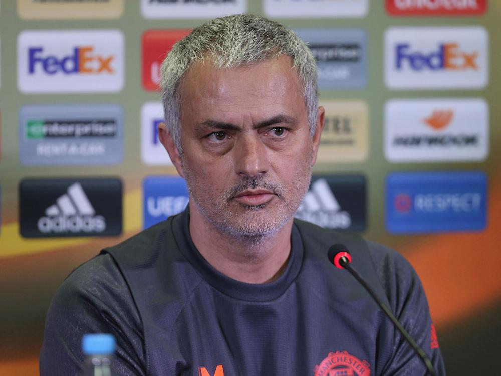 Jose Mourinho has urged his players to block out security fears: Getty