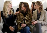 """<p>That means no mentions of production or the crew whatsoever. This can <em>sometimes</em> lead to confusing drama. <em>Real Housewives of New York </em>star Carole Radziwill told <a href=""""https://www.buzzfeed.com/kateaurthur/carole-radziwill-interview-real-housewives-of-new-york"""" rel=""""nofollow noopener"""" target=""""_blank"""" data-ylk=""""slk:BuzzFeed"""" class=""""link rapid-noclick-resp""""><em>BuzzFeed</em></a> that she was told information by a producer that led to her calling Aviva Drescher a liar. But since explaining her source to viewers would break the fourth wall, she couldn't divulge more info.</p>"""