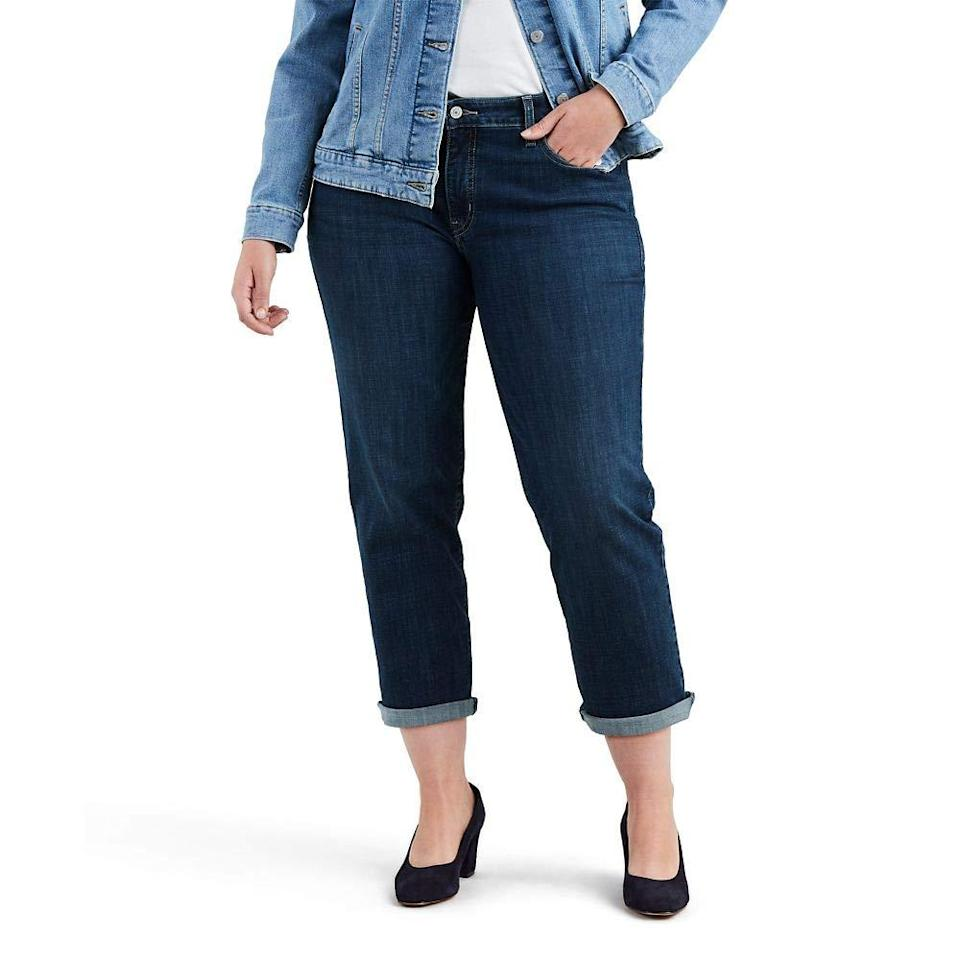 "<br><br><strong>Levi's</strong> New Boyfriend Jeans, $, available at <a href=""https://amzn.to/30X4AFy"" rel=""nofollow noopener"" target=""_blank"" data-ylk=""slk:Amazon Fashion"" class=""link rapid-noclick-resp"">Amazon Fashion</a>"