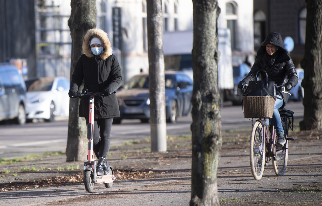 Although Sweden did not enforce a strict lockdown they have been socially distancing since the pandemic began. (Getty)