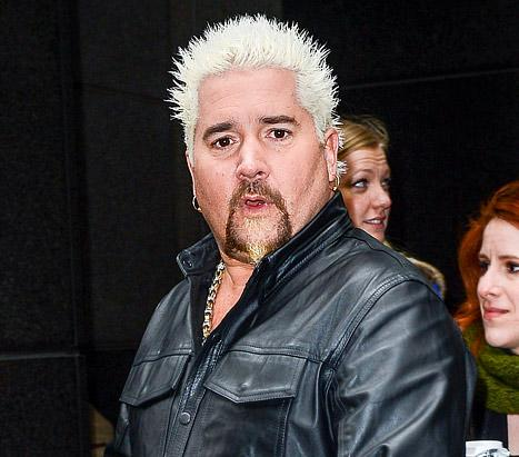 """Guy Fieri """"Threw a Fit"""" After Being Rejected From VIP Super Bowl Party"""