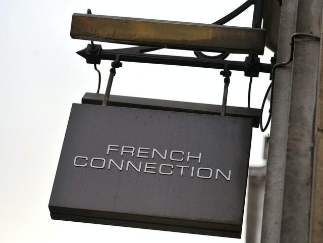French Connection sign