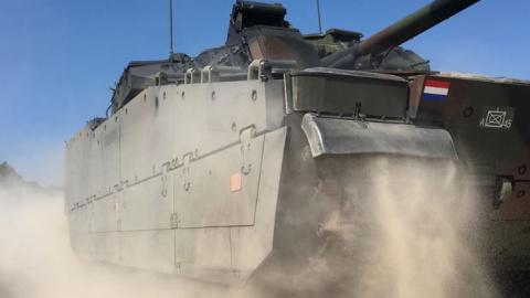 BAE Systems' Selected to Integrate Active Protection System Solution into Dutch CV90s