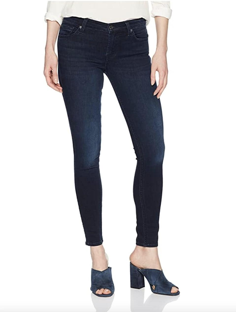 <p>If you're into low-rise pairs, get these <span>7 For All Mankind Gwenevere Ankle Skinny Mid Rise Jeans</span> ($72 - $145).</p>