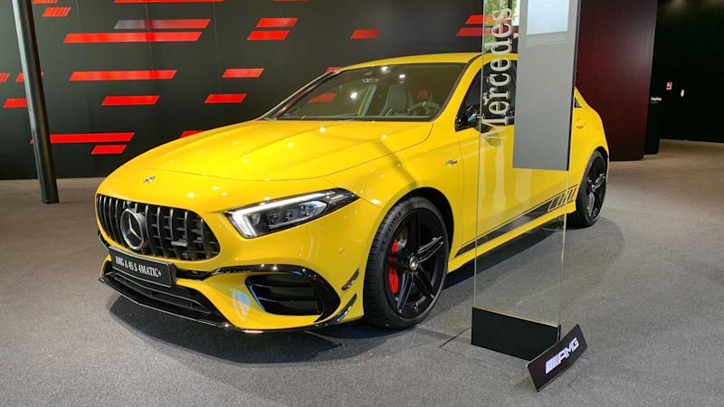 Mercedes-AMG A 45 S 4Matic+ Coupe 2020