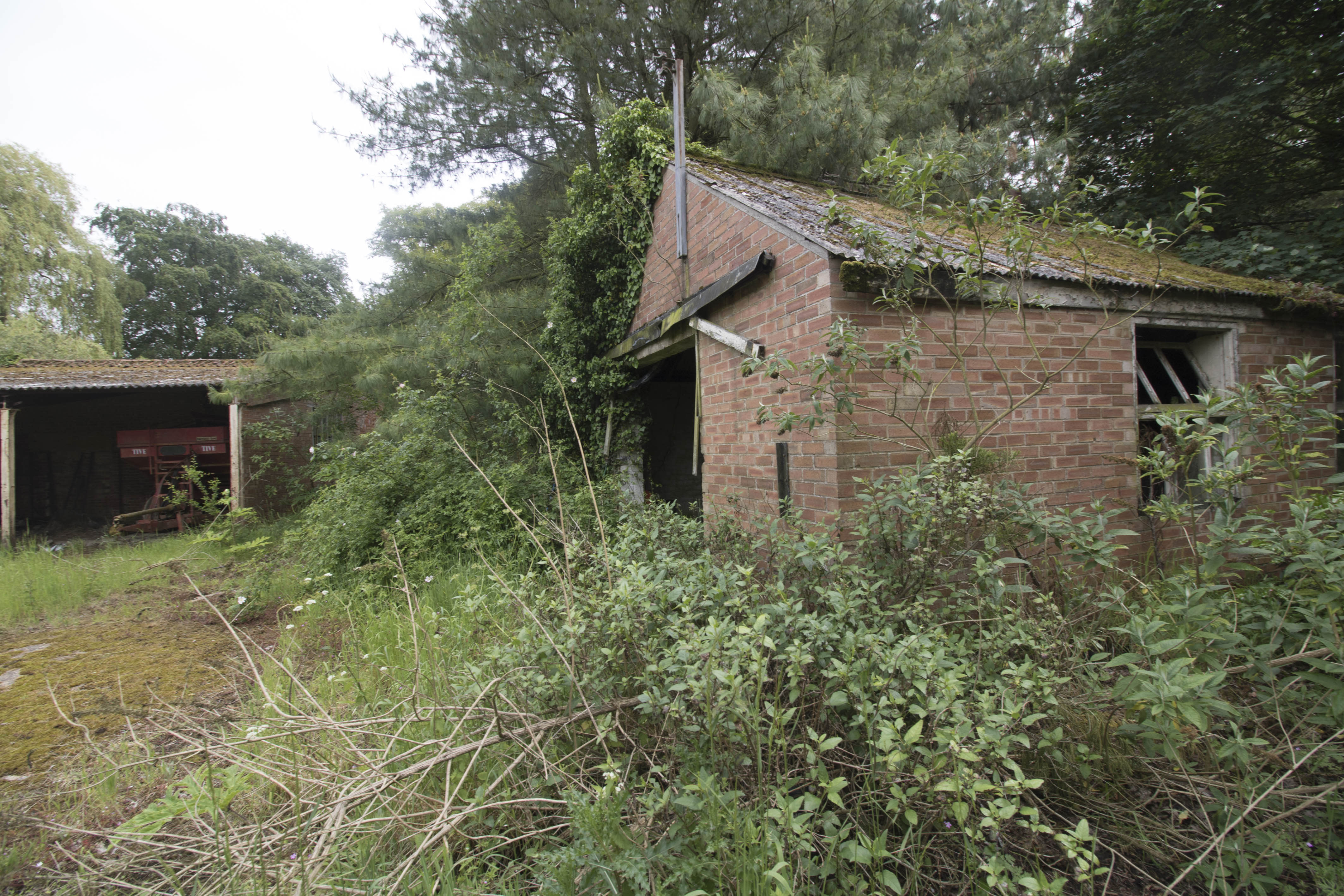 One of the derelict outbuildings (Caters)