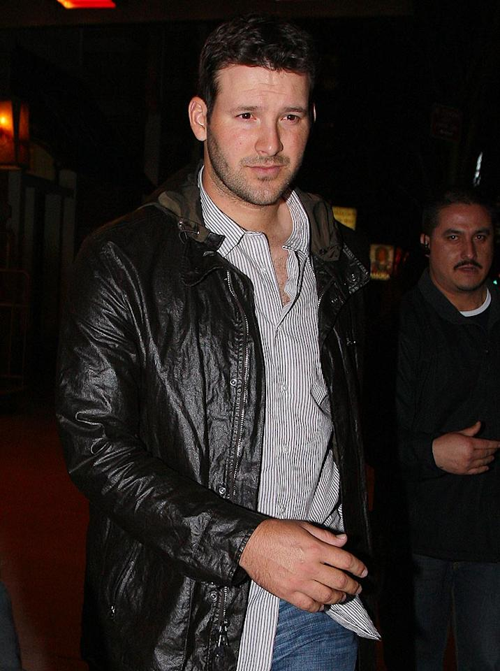 """Several sites fumbled with a story that claimed Dallas Cowboys quarterback Tony Romo was engaged to Chace Crawford's news reporter sister Candice Crawford. It was all based on a photo of her wearing a band that sorta, kinda, not exactly looked like an engagement ring. Best part for us was when Crawford's boss at her station told <a href=""""http://www.gossipcop.com/tony-romo-and-candice-crawford-not-engaged/"""" target=""""new"""">Gossip Cop</a> that she found the rumor """"amusing."""" Tom Meinelt-Jackson Lee/<a href=""""http://www.splashnewsonline.com/"""" target=""""new"""">Splash News</a> - August 13, 2009"""
