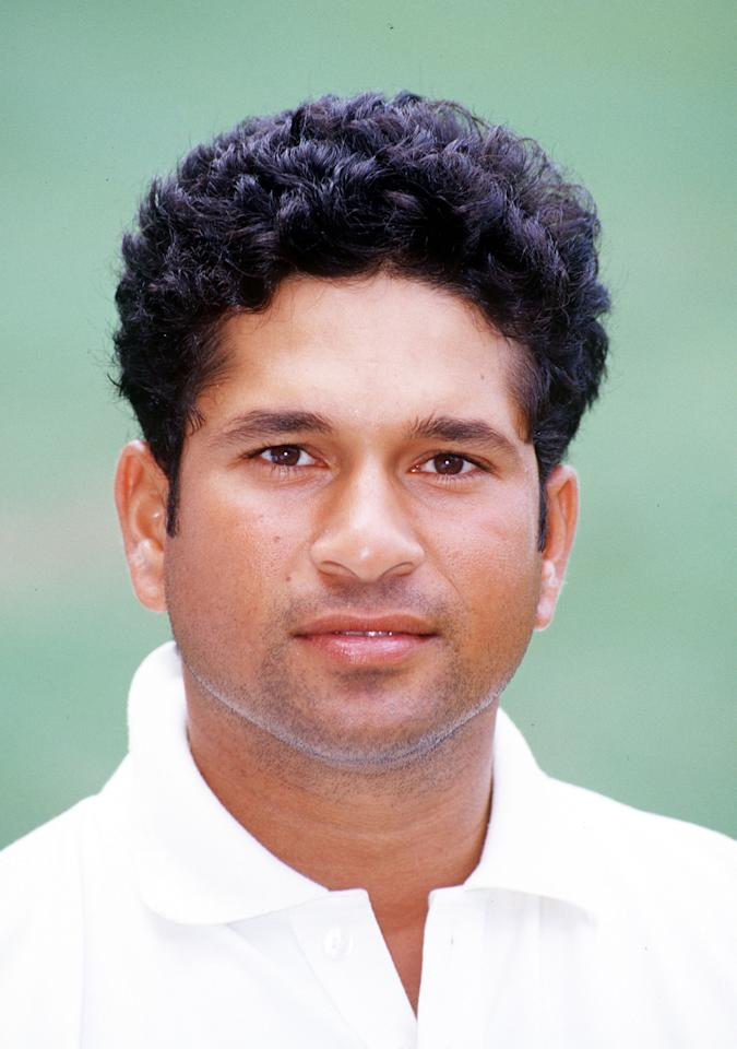 28 Nov 1999:  Sachin Tendulkar, Captain of India, during a Portrait session, at the ''Gabba,  Brisbane, Australia. Mandatory Credit: Darren England/ALLSPORT