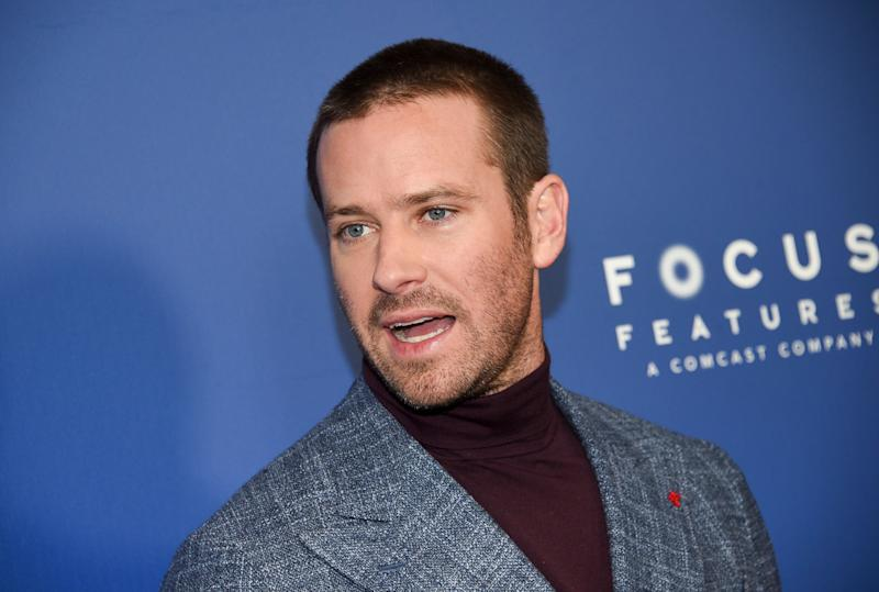 Armie Hammer is shining a light on Marvel Entertainment head Isaac Perlmutter's financial support of Trump.  (Photo: Evan Agostini/Invision/AP)