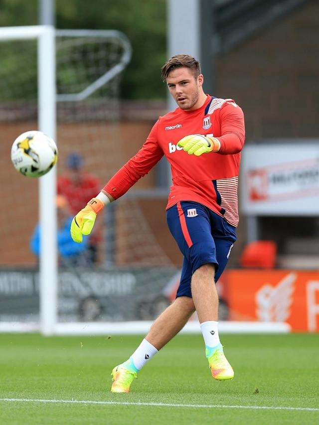 Butland played the full ninety minutes of an Under-23 match against Brighton (Getty)