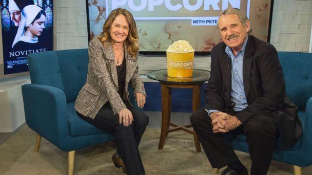 PHOTO: Melissa Leo appears on 'Popcorn with Peter Travers' at ABC News studios, Oct. 25, 2017, in New York City. (Maryellen McGrath/ABC)