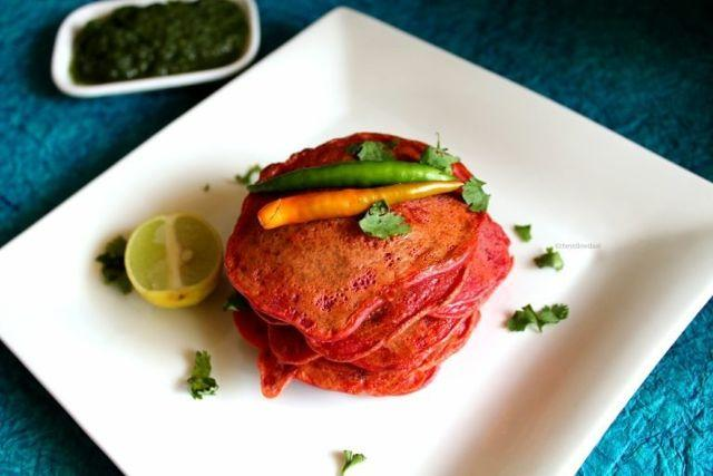 Red Dosa Or Beetroot Ka Chilla? What Will You Call This
