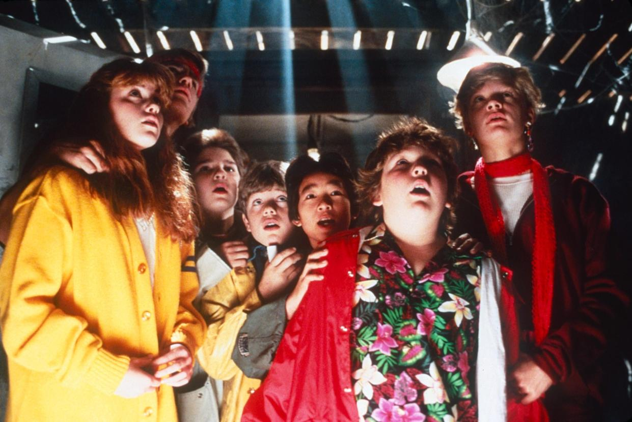 The cast of Richard Donner's 1984 hit, 'The Goonies' (Photo: Warner Bros. / courtesy Everett Collection)