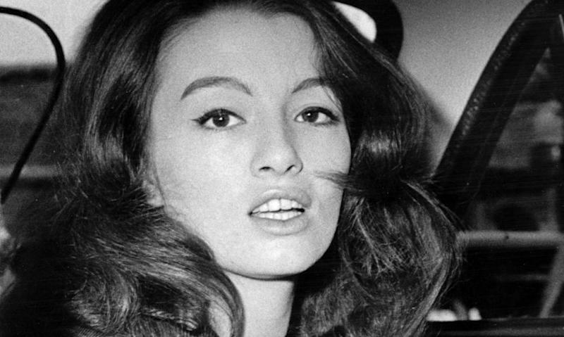 Christine Keeler in 1963
