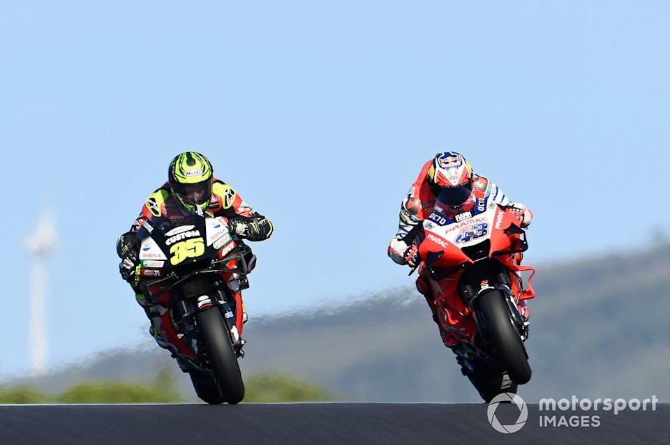 "Cal Crutchlow, Team LCR Honda, Jack Miller, Pramac Racing<span class=""copyright"">Gold and Goose / Motorsport Images</span>"