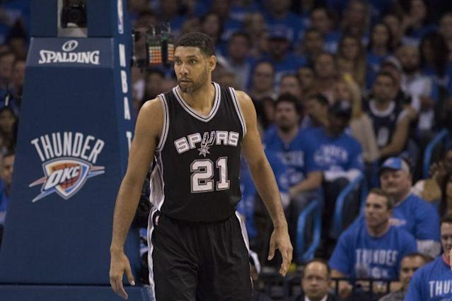 Tim Duncan accused Banks of defrauding him on a $7.5 million loan. (Getty)