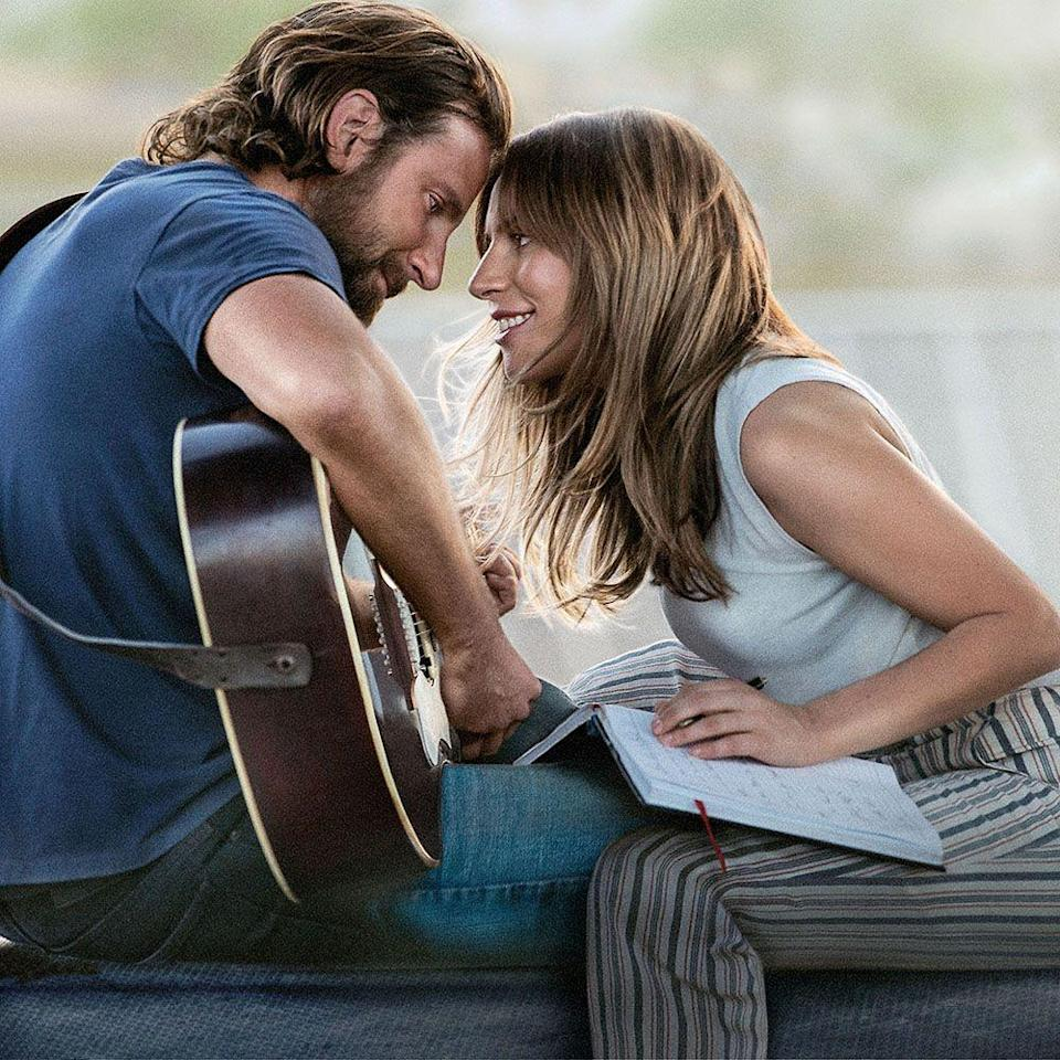 """<p>Director and star of the contemporary remake of the enduring musical, <em>A Star Is Born</em>, Bradley Cooper had never sung before he took the stage as heartland singer Jackson Maine. Luckily, he recruited some very talented musicians to curate the <a href=""""https://www.harpersbazaar.com/culture/art-books-music/a24088658/a-star-is-born-soundtrack-songwriters-interview/"""" rel=""""nofollow noopener"""" target=""""_blank"""" data-ylk=""""slk:film's soundtrack"""" class=""""link rapid-noclick-resp"""">film's soundtrack</a>, a mash of blues, country, folk rock, pop, and now an Oscar hit (""""<a href=""""https://www.youtube.com/watch?v=JPJjwHAIny4"""" rel=""""nofollow noopener"""" target=""""_blank"""" data-ylk=""""slk:Shallow"""" class=""""link rapid-noclick-resp"""">Shallow</a>""""). Not only did Cooper share the mic with mega pop star Lady Gaga, who wrote and performed much of the soundtrack, but also Americana artist Jason Isbell supplied lyrics for one of Jackson's greatest hits, """"<a href=""""https://www.youtube.com/watch?v=RdljoTFMhO4"""" rel=""""nofollow noopener"""" target=""""_blank"""" data-ylk=""""slk:Maybe It's Time"""" class=""""link rapid-noclick-resp"""">Maybe It's Time</a>.""""</p><p><a class=""""link rapid-noclick-resp"""" href=""""https://www.amazon.com/Star-Born-Bradley-Cooper/dp/B07PMFRQPH?tag=syn-yahoo-20&ascsubtag=%5Bartid%7C10056.g.32872244%5Bsrc%7Cyahoo-us"""" rel=""""nofollow noopener"""" target=""""_blank"""" data-ylk=""""slk:Watch and Listen"""">Watch and Listen </a></p>"""
