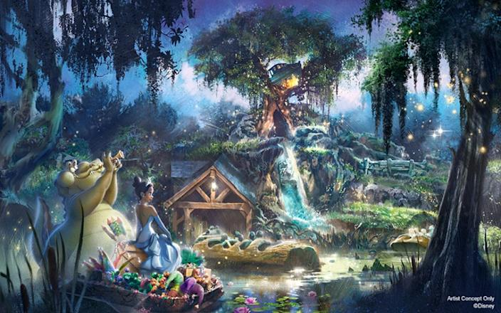 Princess Tiana will soon be moving into Splash Mountain, as the ride will be rethemed to 'Princess and the Frog,' ridding Disney of an attraction that has been associated with the racist film 'Song of the South.'