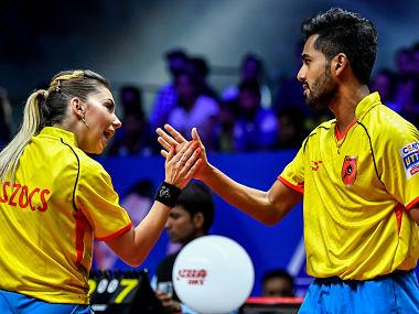 Ultimate Table Tennis 2018: Sanil Shetty, Bernadette Szocs power Falcons TTC to big win over Empowerji Challengers