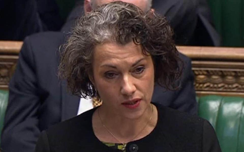 Sarah Champion said charities needed to follow the example of the Catholic Church in facing up to years of abuse within their organisations - House of Commons/PA